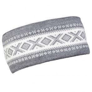 Dale of Norway Cortina Merino headband Smoke / off white-20