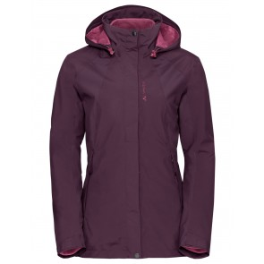 VAUDE Women's Kintail 3in1 Jacket IV fuchsia-20
