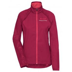 VAUDE Women's Windoo Pro ZO Jacket crimson red-20