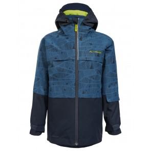VAUDE Kids Snow Cup 3in1 Jacket AOP deep water-20