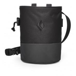 Black Diamond Mojo Zip Chalk Bag Black-Slate-20