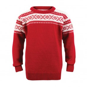 Dale of Norway Cortina Kids Sweater raspberry / off white-20
