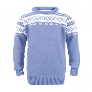 Dale of Norway Cortina Kids Sweater Blue shadow / off white-20