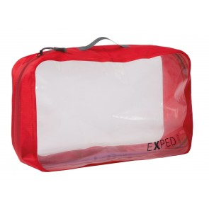 EXPED Clear Cube XL red-20