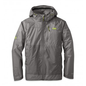 Outdoor Research Men's Helium HD Jacket pewter/lemongrass-20