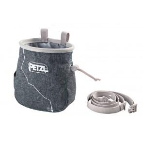 Petzl Saka Chalk Bag Grey-20