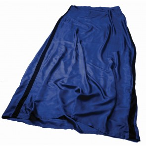 Sea To Summit Silk Stretch Liner Long (Rectangular) Navy Blue-20