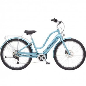 Electra Townie Path Go! 10D Step Thru EU M Aqua Metallic-20