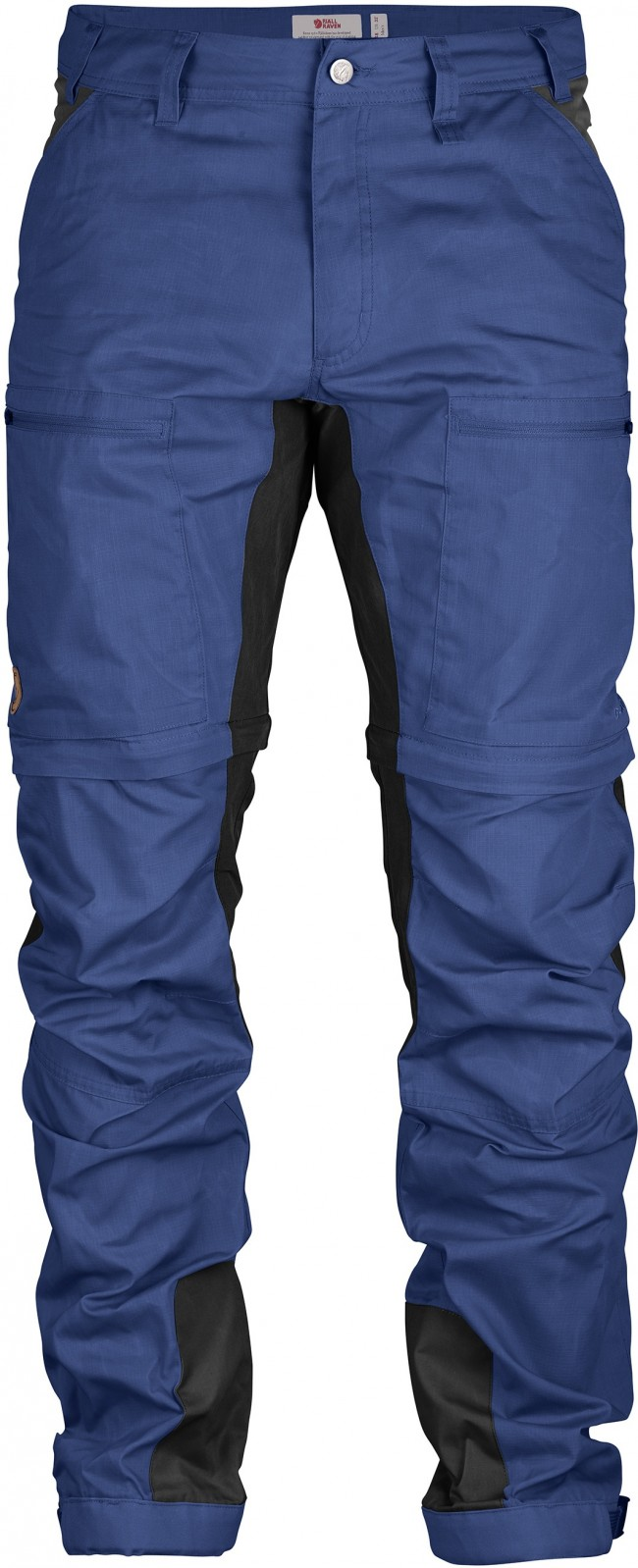 FjallRaven Abisko Lite Trekking Zip Off Trousers Long Deep