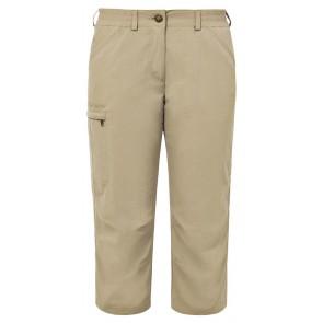 VAUDE Women's Farley Capri Pants IV muddy-20
