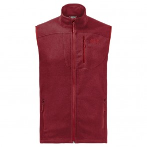 Jack Wolfskin Thunder Bay Vest Men dark lacquer red-20