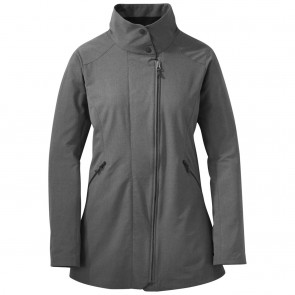 Outdoor Research Women's Prologue Trench charcoal heather-20