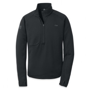 Outdoor Research Men´s Radiant Hybird Pullover 001-BLACK-20