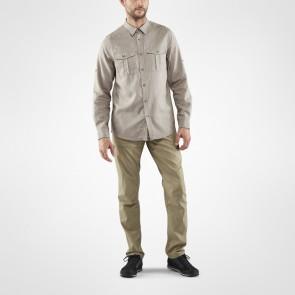 FjallRaven Övik Travel Shirt LS M Fog-20