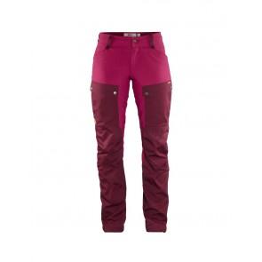 FjallRaven Keb Trousers Curved W 32 Dark Garnet-Plum-20