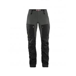 FjallRaven Keb Trousers W Short Black-Stone Grey-20