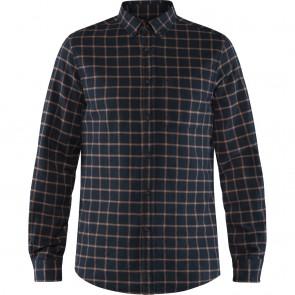 FjallRaven Övik Flannel Shirt M Dark Navy-20
