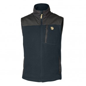 FjallRaven Buck Fleece Vest M Dark Navy-20