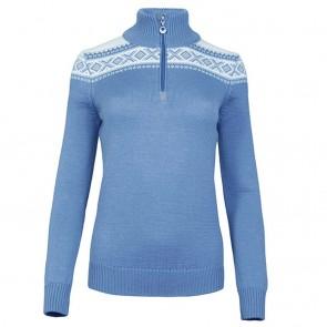 Dale of Norway Cortina Merino Fem Sweater Blue shadow / off white-20