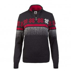 Dale of Norway Åre Feminine sweater Dark charcoal/ off white/ raspberry-20