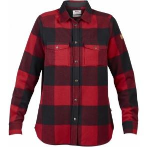 FjallRaven Canada Shirt LS W Red-20