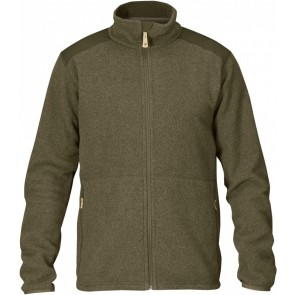 FjallRaven Sten Fleece XL Dark Olive-20