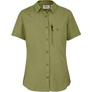 FjallRaven Abisko Hike Shirt SS W Meadow Green-20