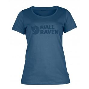 FjallRaven Logo T-Shirt W. Uncle Blue-20