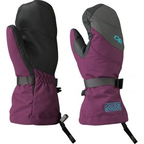 Outdoor Research Women´s Highcamp Mitts 97B-ORCHID/CHARCOAL/RIO-20