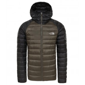 The North Face Men's Trevail Packable Hoodie NEW TAUPE GREEN/TNF BLACK-20