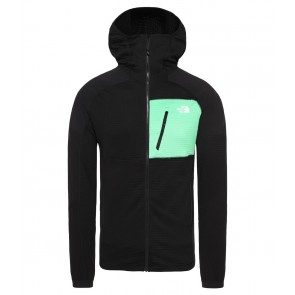 The North Face Men's Impendor Grid Hoodie TNF BLACK/CHLOROPHYLL GRN-20