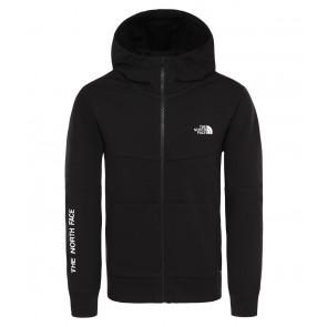 The North Face Youth South Peak Full Zip Hoodie TNF BLACK/TNF WHITE-20