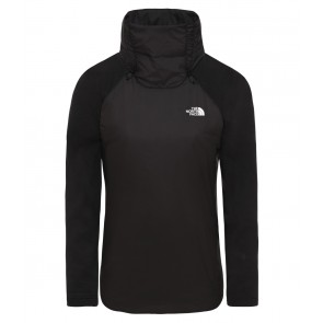 The North Face Women's Synthetic Insulated Hybrid Pullover TNF BLACK/TNF BLACK-20