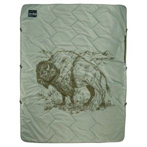 Therm-A-Rest Stellar Blanket Bison Print-20