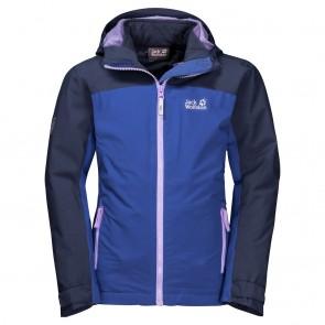 Jack Wolfskin Saana 3In1 Jacket Girls blueberry-20