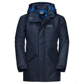 Jack Wolfskin Ice Cave 3In1 Jacket Boys night blue-20