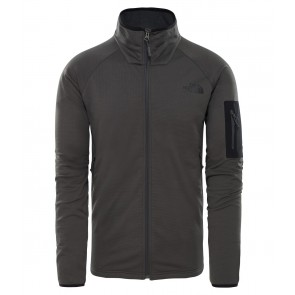 The North Face Men's Borod Full Zip Fleece ASPHALT GREY/TNF BLACK-20