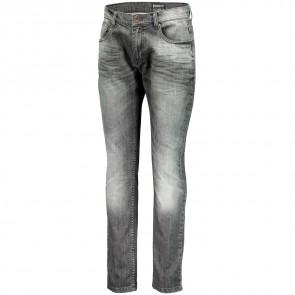 Scott Pants Denim Slim Factory Team L grey washed-20