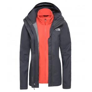 The North Face Women's Evolve II Triclimate Jacket VANADIS GRY/RADIANT ORNGE-20