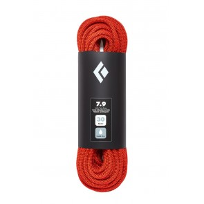 Black Diamond 7.9 Rope 60M Dry Orange-20
