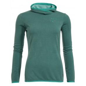 VAUDE Women's Miskanti LS T-Shirt nickel green-20
