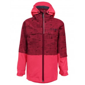 VAUDE Kids Snow Cup 3in1 Jacket AOP crocus-20