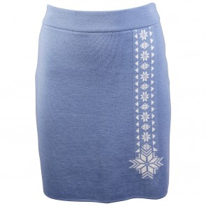 Dale of Norway Geilo Fem Skirt Blue shadow / Off white-20