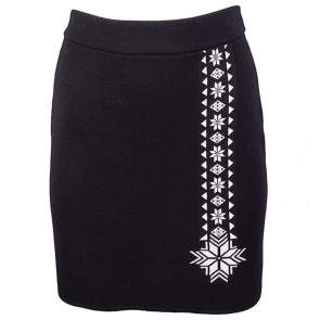 Dale of Norway Geilo Fem Skirt Black/ off white-20