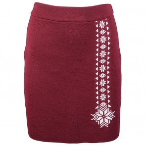 Dale of Norway Geilo Fem Skirt Ruby mel/ off white-20