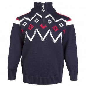 Dale of Norway Seefeld Kids Sweater navy / raspberry / off white-20