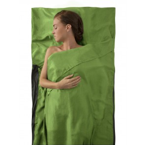 Sea To Summit Silk Stretch Liner Traveller (with Pillow slip) Green-20
