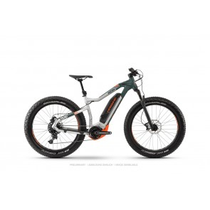 Haibike XDURO FatSix 8.0 Olive/Carbon/Orange matt-20