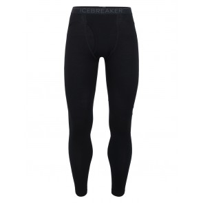 Icebreaker Mens 260 Tech Leggings w Fly Black-20