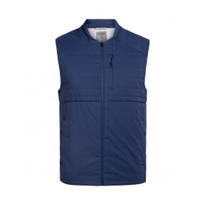 Icebreaker Mens Tropos Vest ESTATE BLUE-20